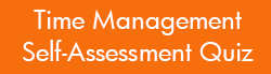 Time Management Self-Assessment Quiz