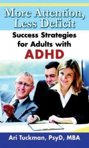 Time management and organization strategies for adults with ADHD