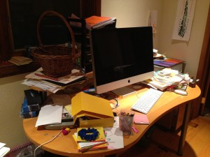 Messiest Desk Contest Winner 2013