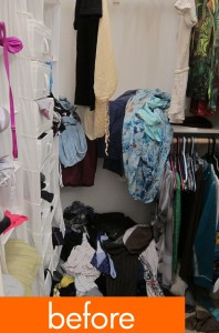 Organizing makeover, part 3: Closets