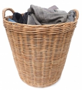 Kid clutter tip: Laundry hampers