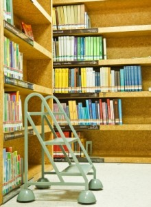 Kid clutter tip: Library books