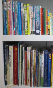 Kid clutter tip: Books