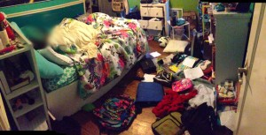 Messiest Kid's Room Contest Winner 2014